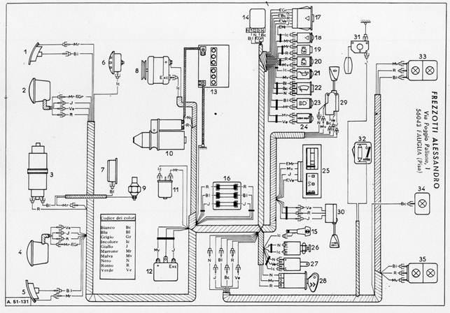 Schema Elettrico Alternatore : Citroen dyane regolatore alternatore